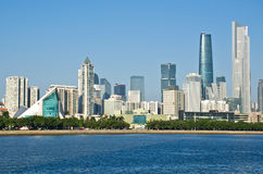 Guangzhou skyline in daytime Stock Photo