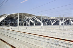 Guangzhou South Railway Station Royalty Free Stock Photos