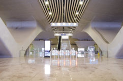 Guangzhou south railway station exit Stock Image