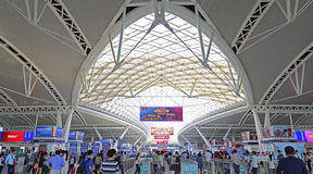 Guangzhou south railway station Royalty Free Stock Photo