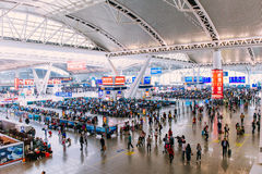 Guangzhou South Railway Station Royalty Free Stock Photos