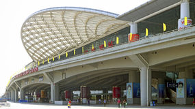 Guangzhou south railway station south entrance Stock Photography