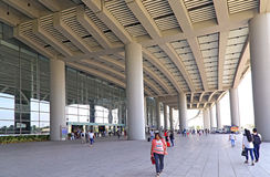 Guangzhou south railway station west entrance Stock Photography