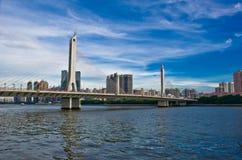 Guangzhou stad i Kina Royaltyfri Bild