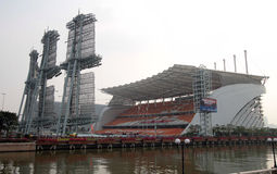 guangzhou stadion arkivbild