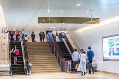 Guangzhou subway station Stock Images