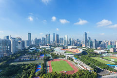 Guangzhou Tianhe District. Eastphoto, tukuchina, Guangzhou Tianhe District, City, scenery stock image