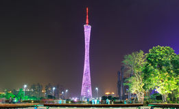 Guangzhou tower Royalty Free Stock Image