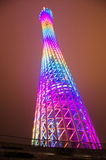 Guangzhou tower Stock Photography