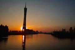 Guangzhou Tower Stock Photo