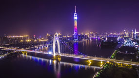 Guangzhou tower. This is Guangzhou landmark building royalty free stock images