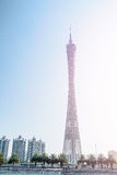 The Guangzhou TV tower Royalty Free Stock Image