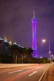 Guangzhou TV tower Royalty Free Stock Photo