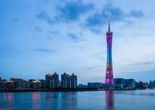 Guangzhou TV Tower. Eastphoto, tukuchina,  Guangzhou TV Tower Stock Photos
