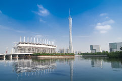 Guangzhou TV Tower Stock Image