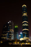 Guangzhou west tower. At night Stock Photography