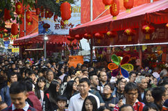 2017 Guangzhou winter jasmine flower market Stock Photo