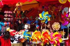 Guangzhou-Winterjasmin-Blumenmarkt 2016 Lizenzfreie Stockfotos