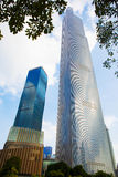 Guangzhou Zhou Dafu financial center 3 Royalty Free Stock Photo