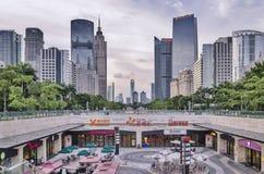 GuangZhou  Zhujiang New Town(CBD) Royalty Free Stock Photos