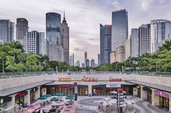 GuangZhou Zhujiang Nieuwe Townï ¼ ˆCBDï ¼ ‰ Royalty-vrije Stock Foto's