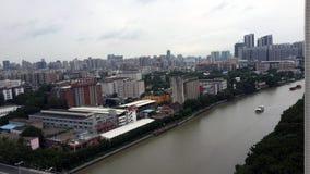 Guangzhoustad panorama1 royalty-vrije stock fotografie