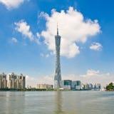 Guangzhoutoren stock afbeelding