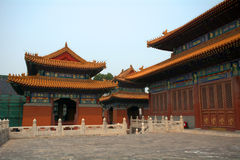 Guanjin Temple, Beijing, China Stock Photography