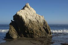 Guano rock Stock Photography