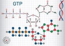 Guanosine το μόριο τριφωσφορικών αλάτων GTP, αυτό χρησιμοποιείται ελεύθερη απεικόνιση δικαιώματος