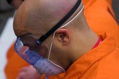 Guantanamo-Schacht Stockfotografie