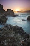 Guantanamo zatoki wschód słońca Fotografia Royalty Free
