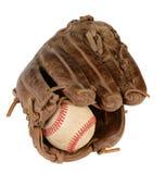 Guante de béisbol del primer Imagen de archivo