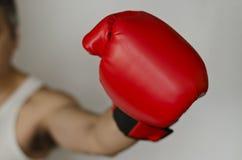 Guante de boxeo Imágenes de archivo libres de regalías