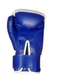 Guante de boxeo en el fondo blanco Imagen de archivo