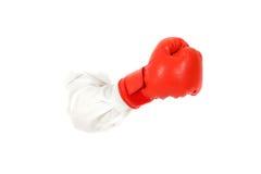 Guante de boxeo, mano. Imágenes de archivo libres de regalías
