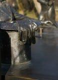 Guante de bronce Imágenes de archivo libres de regalías