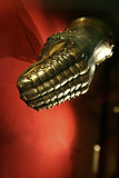 Guante medieval Foto de archivo
