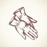 guantes Gráfico del vector Imagen de archivo
