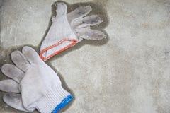 Guantes mojados Foto de archivo libre de regalías