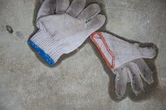 Guantes mojados Fotografía de archivo libre de regalías