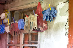 guanti Fotografia Stock Libera da Diritti