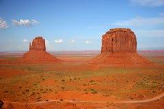 Guanti destri e sinistri - valle del monumento, Arizona Fotografie Stock Libere da Diritti