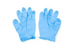 Guanto blu fotografia stock libera da diritti