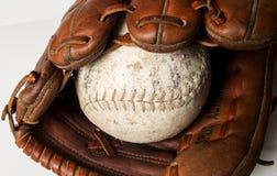 Guanto da baseball Fotografie Stock