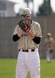 Guanto della brocca della tazza del Canada di baseball Fotografia Stock