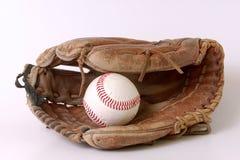 Guanto di baseball Immagini Stock