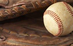Guanto da baseball fotografie stock libere da diritti
