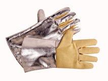 Guanto di protezione dalle radiazioni Fotografie Stock Libere da Diritti
