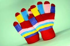 Guanto knited piacevole fotografia stock